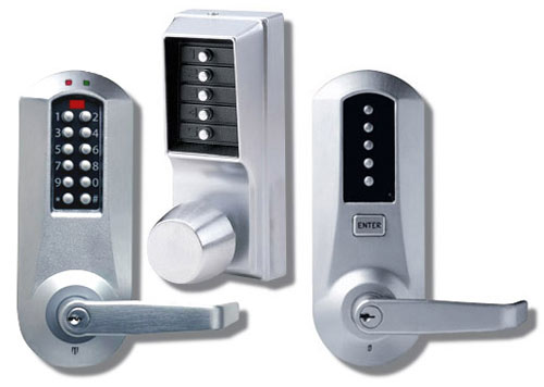 Choosing the best keyless door lock for the home or office for Best locks for home security
